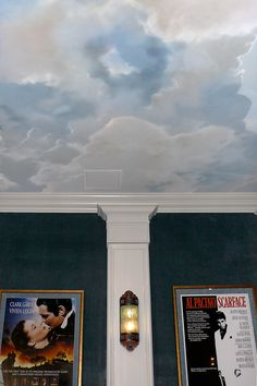 A selection of favorite cloud murals and paintings by Zebo Studio.  1997 - 2011.