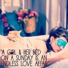 #sundaymorning #girl #love #bed #sunday #loveaffair #latergram #cats #tried #audreyhepburn #hepburn #blog #blogger #instablog #instablogger