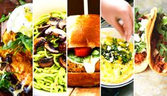 Here are five yummy dinner ideas that make eating your greens super easy! Enjoy! | Be Well Philly