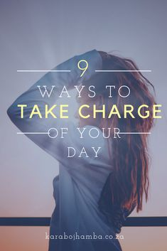 9 ways to help you take charge of the day Black Girls Power, Girl Power, Becoming A Better You, How To Become, Take Charge, Love You More, Spiritual Growth, How To Better Yourself, Girl Boss