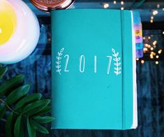 """1,983 Likes, 41 Comments - Jenny (@jennyjournals) on Instagram: """"2017 bullet journal flip through is now up on my YouTube channel  It was so much fun flipping…"""""""