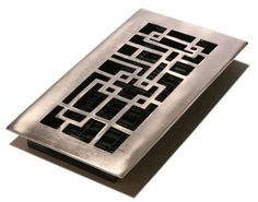 Since hot air rises, floor vents are a more sensible central heating solution.