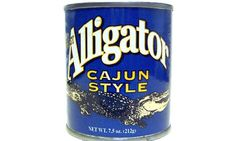 Alligator | 30 Canned Foods You Never Knew Existed WHY NOT? I'VE EATEN ALLIGATOR AND IT TASTE LIKE CHICKEN.