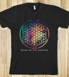 Bring Me The Horizon T-Shirt, Designed by Me.