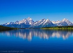 The Grand Teton Mountains Wyoming. We spend a night at the cabins AMAZING sight. A must see for sure.