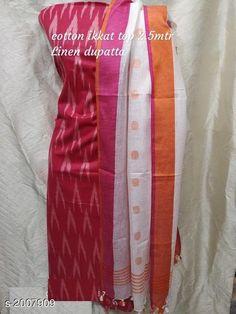 Dress Materials: Ikkat kurti Cotton Starting from : free COD WhatsApp Salwar Neck Designs, Kurta Designs Women, Saree Blouse Designs, Cotton Dress Indian, Cotton Dresses, Salwar Pattern, Ikkat Dresses, Womens Dress Suits, Kurtis