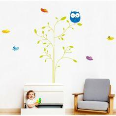 Bumoon Tree Children's Wall Sticker - Full range at Nubie | Nubie - Modern Baby Boutique