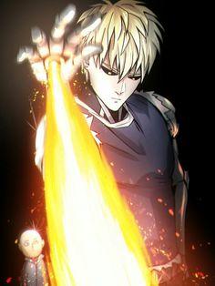 One Punch Man || Genos And Saitama / #anime