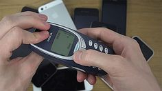 This is what happens when you try to bend a Nokia 3310! #technology