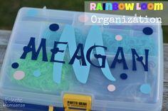 Eclectic Momsense | Rainbow Loom Organization | http://eclecticmomsense.com