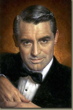 """""""Everybody wants to be Cary Grant. Even I want to be Cary Grant."""" Cary Grant - the famous lover and gentleman. Cary Grant, Humphrey Bogart, Classic Movie Stars, Classic Movies, Vintage Hollywood, Classic Hollywood, Becoming An American Citizen, Commemorative Stamps, Rock Hudson"""