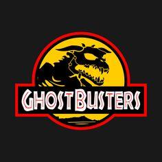 JP x GB (Logo) Gold - Ghostbusters - T-Shirt | TeePublic