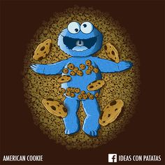 """""""American Cookie""""  When American Beauty meets the Cookie Monster!"""