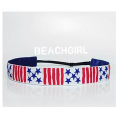 Stars and Stripes ~  Non Slip Adjustable Headband