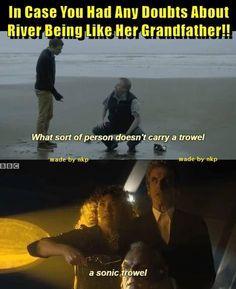 River's grandfather