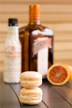 Orange Bitters Macarons