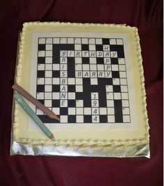 wedding cake layer crossword puzzle crossword puzzle cake ideas pin crossword puzzle cake 23068
