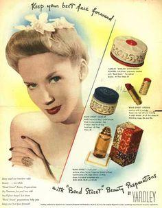 1940s cosmetics on Pinterest