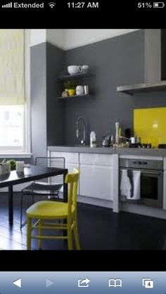 Yellow and Black Decor on yellow paint bedroom ideas, wallpaper for kitchen ideas, yellow paint for small kitchen,