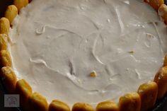 Tort diplomat cu piersici din compot - CAIETUL CU RETETE Pie, Desserts, Torte, Tailgate Desserts, Cake, Deserts, Fruit Cakes, Pies, Postres