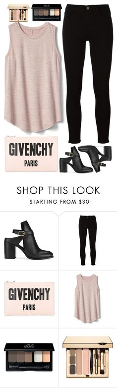 """spring"" by ecem1 ❤ liked on Polyvore featuring Miss Selfridge, Frame, Givenchy, Gap and MAKE UP FOR EVER"