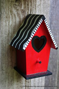 Whimsical Birdy Condos - Old Things New