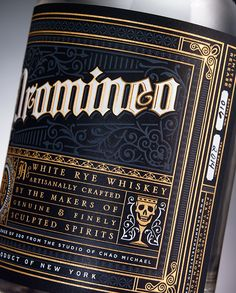 Promineo Whiskey by Chad Michael, via Behance