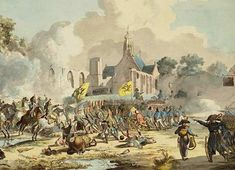 French-Dutch victory under General Brune and General Daendels against the Russians and British in 1799.