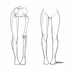 Anatomy Drawing Tutorial I just posted a small leg anatomy tutorial on for beginners I still need to improve lots on my anatomy but just wanted to share what I've learned so far! Drawing Legs, Body Drawing, Anatomy Drawing, Anatomy Art, Human Anatomy, Girl Anatomy, Drawing Hair, Gesture Drawing, Drawing Faces