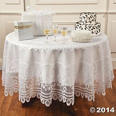 Ivory Round Lace Tablecloths, 60 Inch Lace Table Overlays | Lace Table  Toppers | Burlap And Silk On Etsy | Pinterest | Lace Table, Overlays And  Ivory