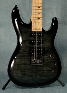 Kramer Striker 211 Electric Guitar - Trans Black - Indian Creek Guitars