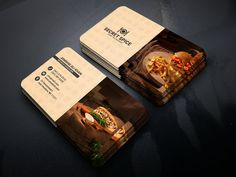Street Spice Business Card Simple,Clean and modern Restaurant & Food business card template. Business Cards Layout, Simple Business Cards, Business Card Design, Business Logos, Logo Restaurant, Restaurant Recipes, Restaurant Interiors, Fashion Business Cards, Visiting Card Design