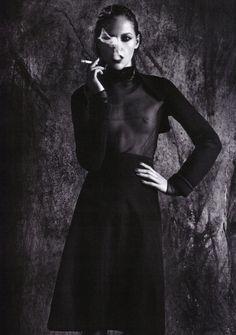 Sasha Pivovarova by Mario Sorrenti