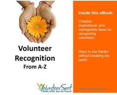 Fresh Volunteer Recognition Ideas from A to Z - cover