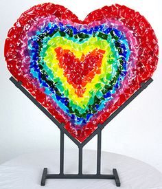 Table Sculpture - Anne Nye Glass