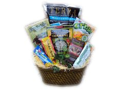 Stress Relief Healthy Gift Basket