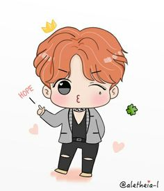 FanArt - BTS: J-Hope em Blood Sweat & Tears