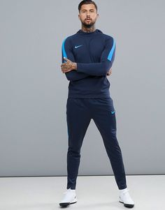 Buy Nike Football Training academy Dry joggers in blue at ASOS. Get the latest trends with ASOS now. Football Outfits, Nike Football, Training Academy, Gym Training, T Is For Train, Joggers, Active Wear, Normcore, Sporty