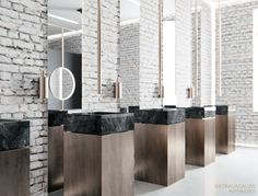 Extravagauza Interiors | Contemporary office toilet design www.extravagauza…