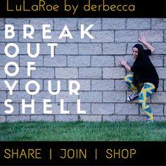 Break free from your old wardrobe...you're worth it! #shopleggings #lularoeshop #stretch https://www.facebook.com/groups/lularoederbecca