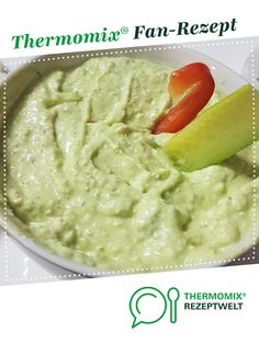 Avocado Frischkäse Dip Avocado Cream Cheese Dip by A Thermomix ® recipe from the Sauces / Dips / Spreads category www.de, the Thermomix® Community. Avocado Dessert, Avocado Dip, Avocado Cream, Avocado Recipes, Avocado Toast, Authentic Mexican Recipes, Mexican Food Recipes, Ethnic Recipes, Lacto Vegetarian Diet