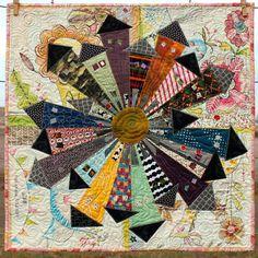 Dresden Neighborhood Mini Quilt Pattern by PersimonDreams on Etsy