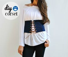 Trash To Couture: DIY Corset with Dritz