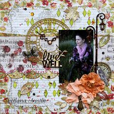 Colorful Memories: One Autumn Day Summer Is Here, Spring Summer, My Dear Friend, Autumn Day, Scrapbooking, Colorful, Memories, Projects, Inspiration