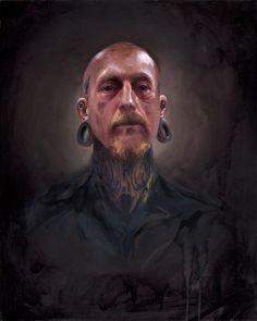 tattooed portraits by shawn barber ©2012