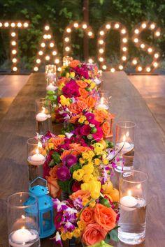 Wedding Ideas By Colour: Bright Wedding Flowers - Floral decor | CHWV #wedding #decor #bride #groom #summerwedding #weddingdecor #diy #bohowedding