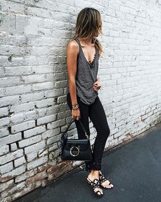 WEBSTA @ sincerelyjules - Off duty in @paigedenim ✔️ #liveinit