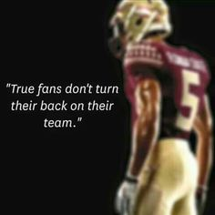Well I am definitely a true fan through good times and bad. Always love and support my Noles! FOR LIFE! Florida State Football, College Football Season, College Game Days, Florida State University, Florida State Seminoles, Seminole Football, Fsu Game, Football Program, Football Stuff