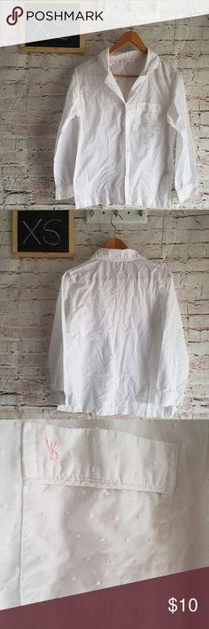 278c7515 Victoria's Secret Nightshirt Size Xs Textured Nightshirt. Button down with  a pocket. 78%