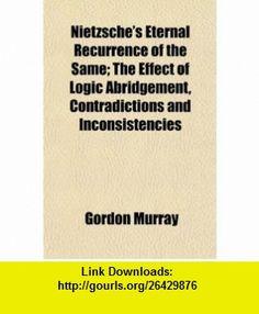 Nietzsches concept of eternal recurrence essay
